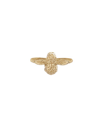OLIVIA BURTON LONDON 3D Bee JewelleryOBPIN01 – Damen Bienen-Anstecker in Gold - Front view