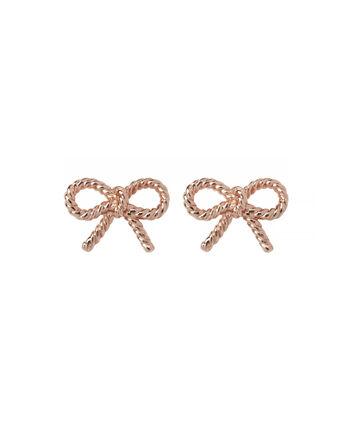 OLIVIA BURTON LONDON Vintage Bow Stud EarringsOBJ16VBE23 – Vintage Bow Stud Earrings - Front view