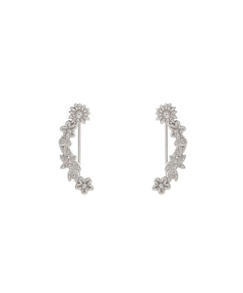 OLIVIA BURTON LONDON Bee BloomsOBJ16BBE03 – Bee Blooms Crawler Earrings - Front view